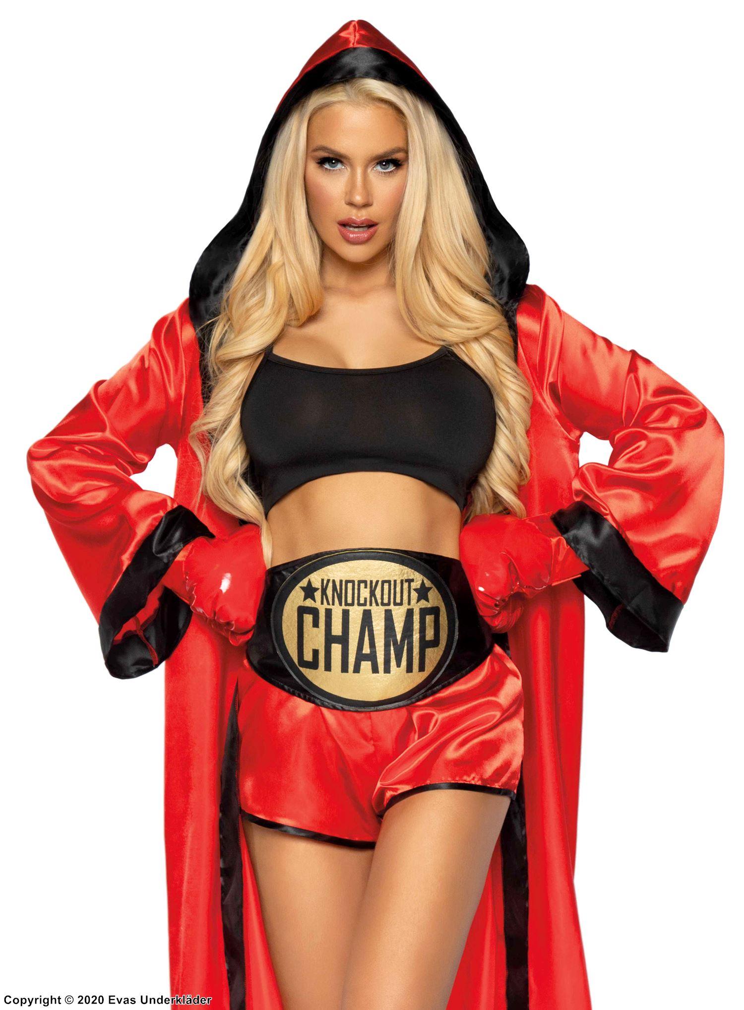 Kvinnlig Boxare